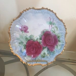 ROSE GOLD ANTIQUE PLATE (not real gold)